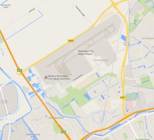 Rotterdam den haag vliegveld